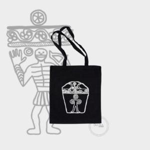 ceker bulbul design Canvas Tote Bag