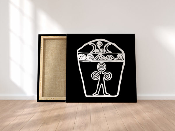 Print on canvas, interior design, poster